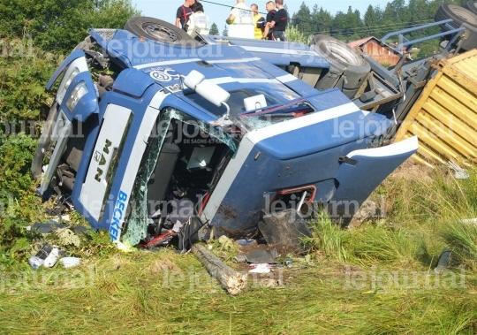 Vaux-et-Chantegrue ( 25 ) : Un routier tué dans le Doubs