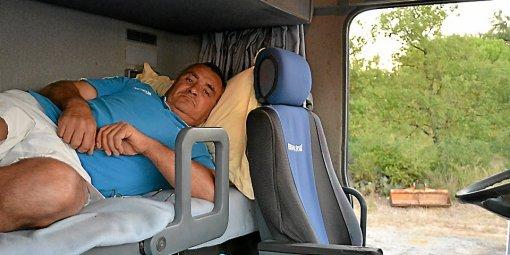 Montignargues : de peur d'être volé, il dort dans son camion !