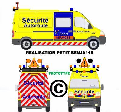 Scherlenheim (67) :  Ivre, un conducteur de poids lourd percute une camionnette de la Sanef