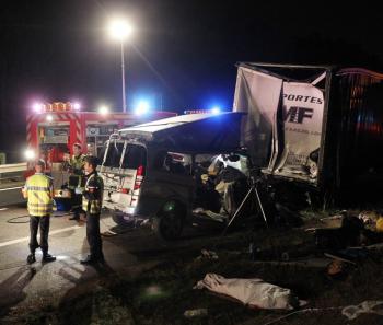 Labenne (40)  : Son van s'encastre dans un poids lourd, l'accident a causé la mort de quatre personnes
