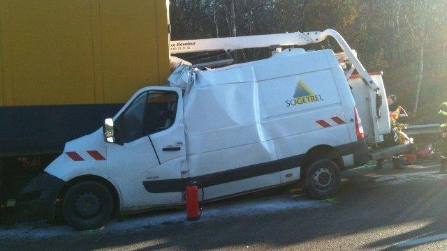 Le conducteur du poids lourd à l'origine de l'accident de l'A39 est mis en examen<img300|center>