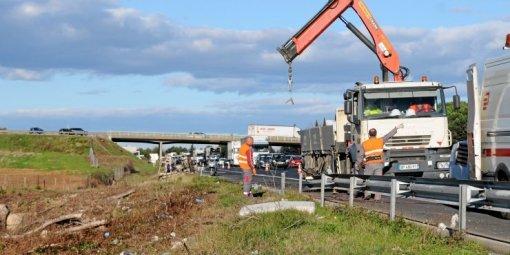 Accident mortel sur l'A9 à Saint-Aunès : elle meurt écrasée par le poids lourd