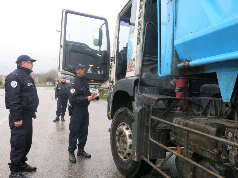 La direction départementale de la sécurité publique de l'Ardèche est dotée d'un Tak-reader depuis le début de l'année