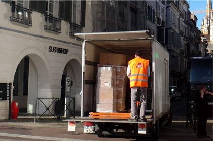 Bientot la fin des livraisons dans les centre ville :  Livraisons urbaines / Bayonne choisit les Transports Lataste