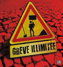 GREVE ILLIMITEE: La seule solution en 2015 pour éviter les miettes