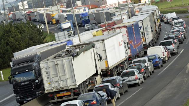 Grève des routiers à Caen. Nouvelle mobilisation lundi 26 janvier