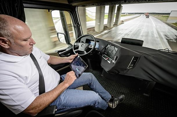 Des camions sans chauffeur testés aux Pays-Bas