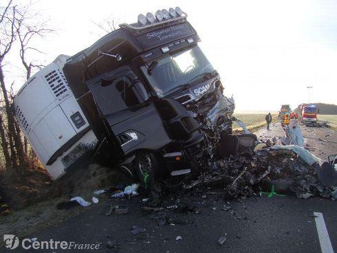 Un Bourbonnais tué dans un accident de la route dans le Cher