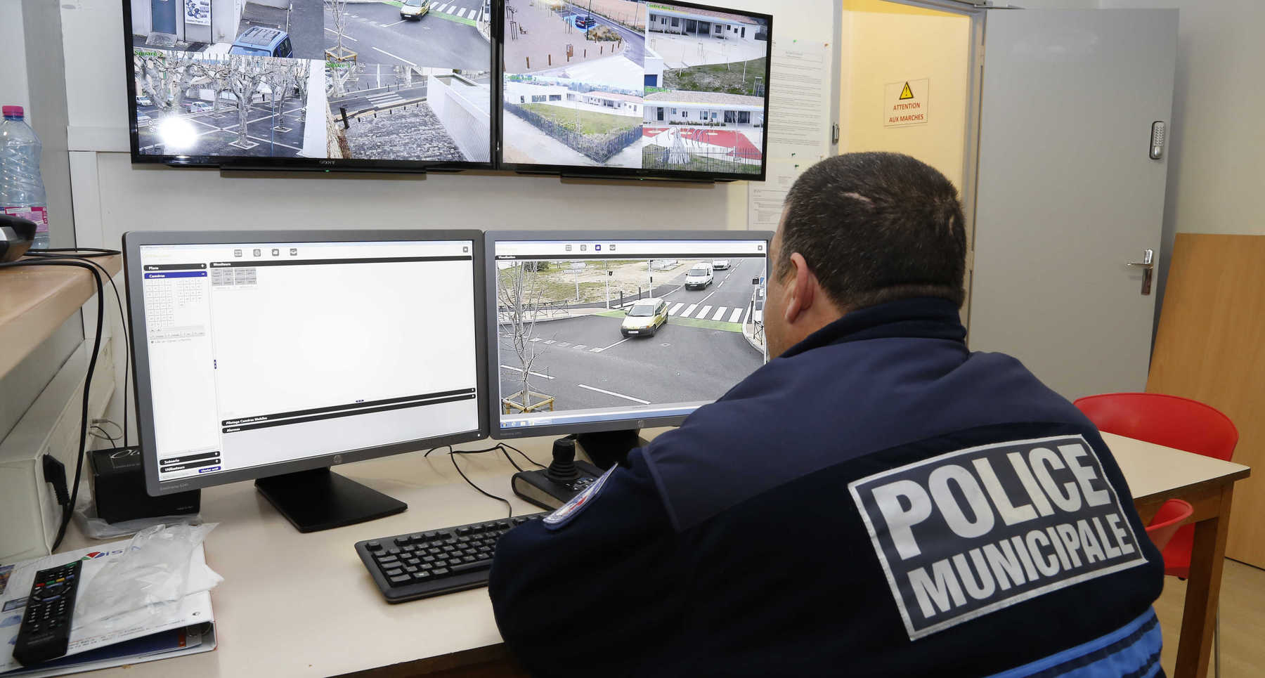 GIGNAC (13), ville-pilote pour la vidéo-verbalisation des camions