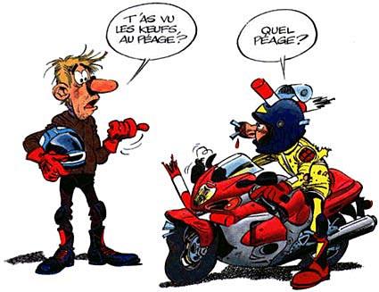 HAUTE-SAVOIE Autoroute : un télébadge spécial motards