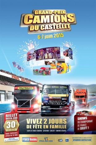 Grand-Prix Camions du Castellet – 6 & 7 juin 2015