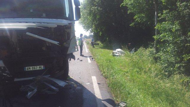 Une mère et sa fille tuées, percutées par un camion, à Sombrun dans les Hautes-Pyrénées