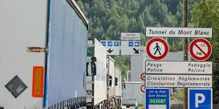 Tunnel du Mont-Blanc fermé du 15 au 16 juin pour cause d'exercice de sécurité