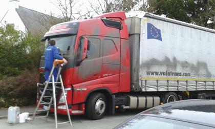 Les transporteurs de l'Est dans le viseur des transporteurs bretons