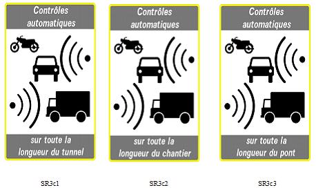 Radars : trois nouveaux panneaux pour signaler les contrôles de vitesse