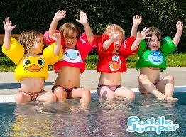 Le Puddle Jumper : une bouée brassard colorée sécurisante