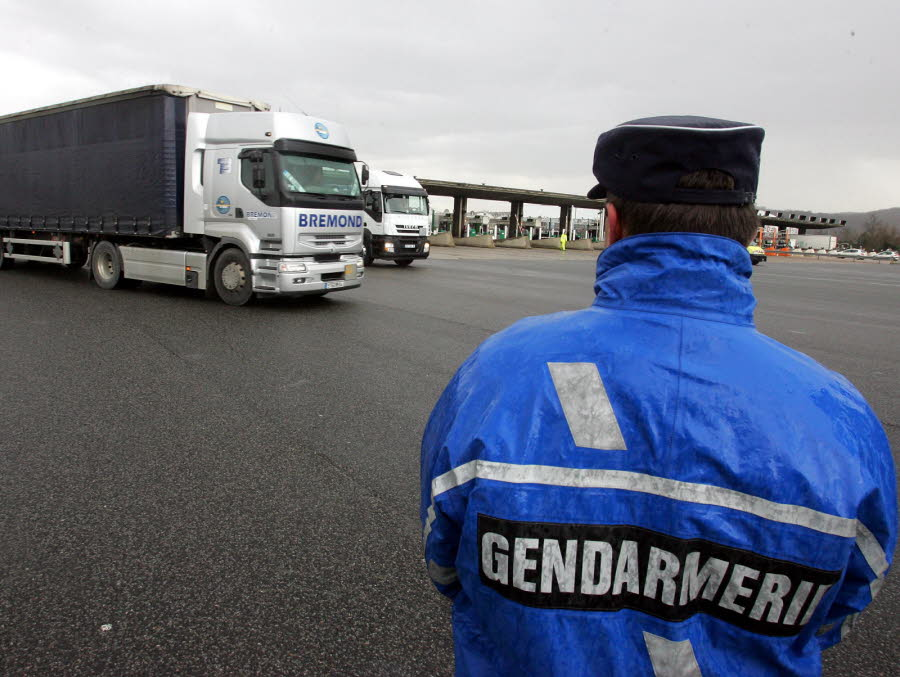 VAUCLUSE A7 : le routier turc arrêté avant une livraison vers l'Irak