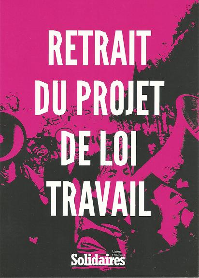 Grève reconductible à partir du 16 mai !!! Le syndicat SUD Solidaires Route, les sections route de l'Union Solidaires Transports rejoignent l'appel à la grève