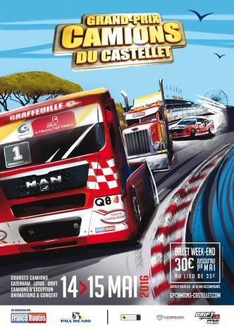 Grand-Prix Camions du Castellet 14-15 mai 2016