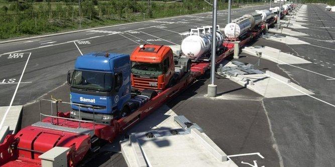 L'autoroute ferroviaire VIIA Britanica est interrompue / Vive les camions