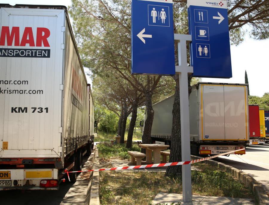 Le débat politique entre routiers polonais se règle à coups de lame