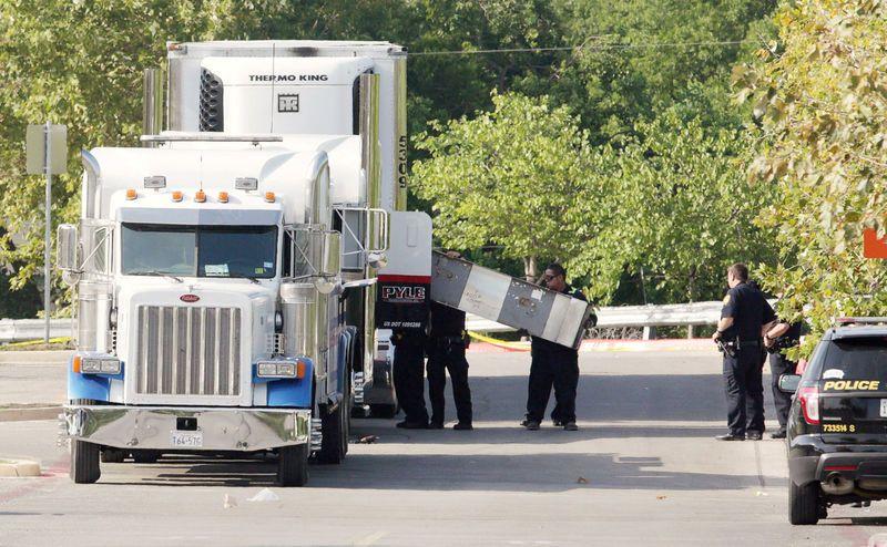 Texas: Neuf personnes retrouvées mortes à l'arrière d'un camion