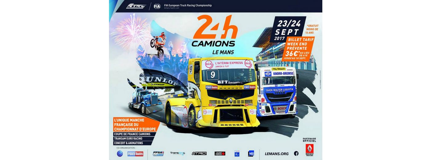24 HEURES CAMIONS 2017