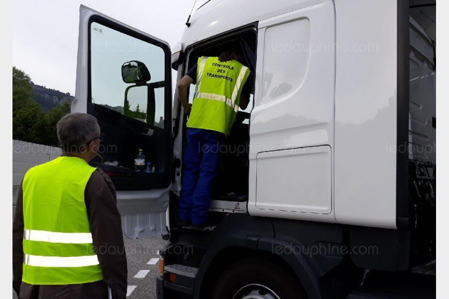 MORNAS/AVIGNON / Lutte contre la concurrence déloyale : près de 280 camions contrôlés