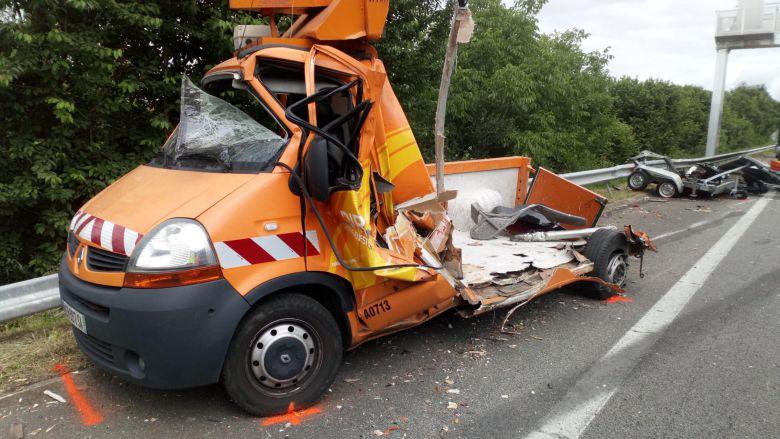 Haute-Vienne : un mort dans un accident de poids lourd sur l'autoroute A 20