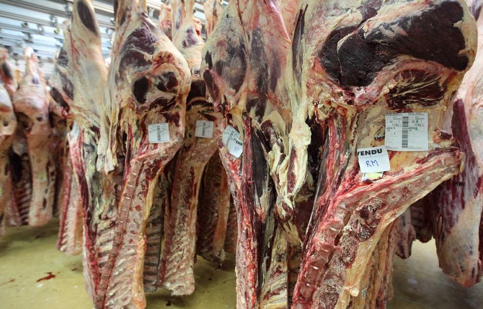 Coulommiers: Un chauffeur-livreur meurt écrasé sous des carcasses de viande