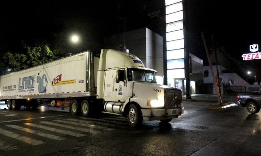 Mexique: scandale autour d'un camion servant de morgue