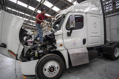 Des camions blindés pour résister aux attaques sur autoroute