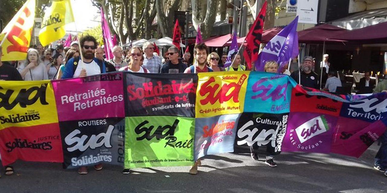 SUD-Solidaires Route en gréve le 24 septembre 2019