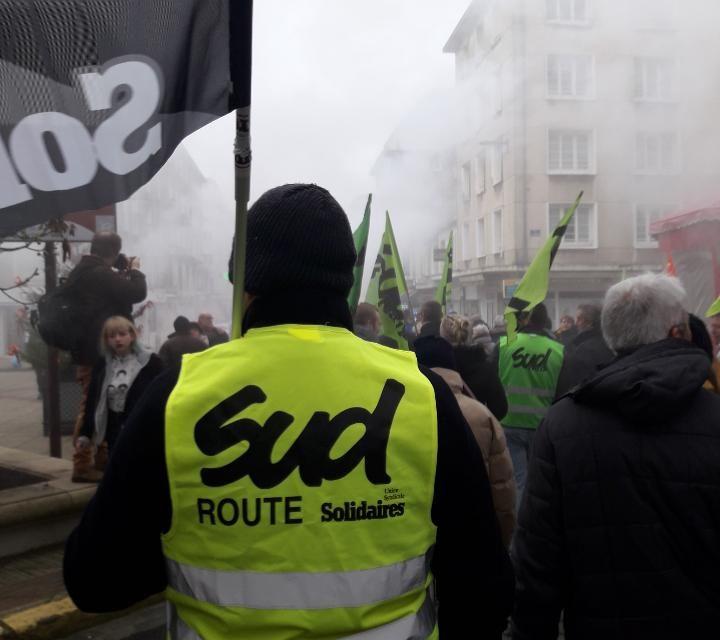 SUD- Solidaires Route sur le terrain , où sont les autres syndicats routiers ?
