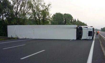 Nîmes : L'autoroute A9 coupée dans le sens Nîmes-Montpellier