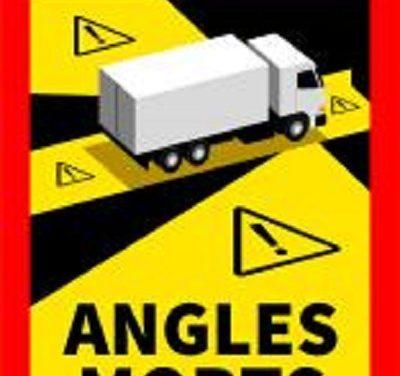 Un décret impose aux plus de 3,5 t d'apposer sur leur portière une signalisation angles morts