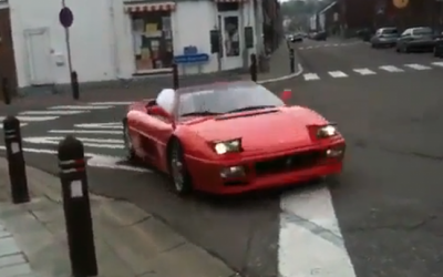 VIDEO: Un belge qui grille un stop ca fait sourire mais également peur.