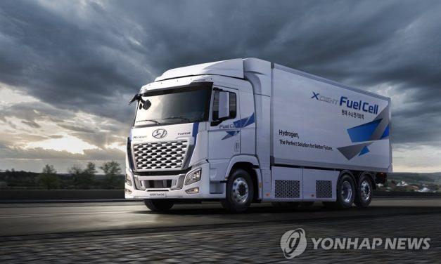 Hyundai expédiera en Suisse 140 camions à hydrogène Xcient cette année